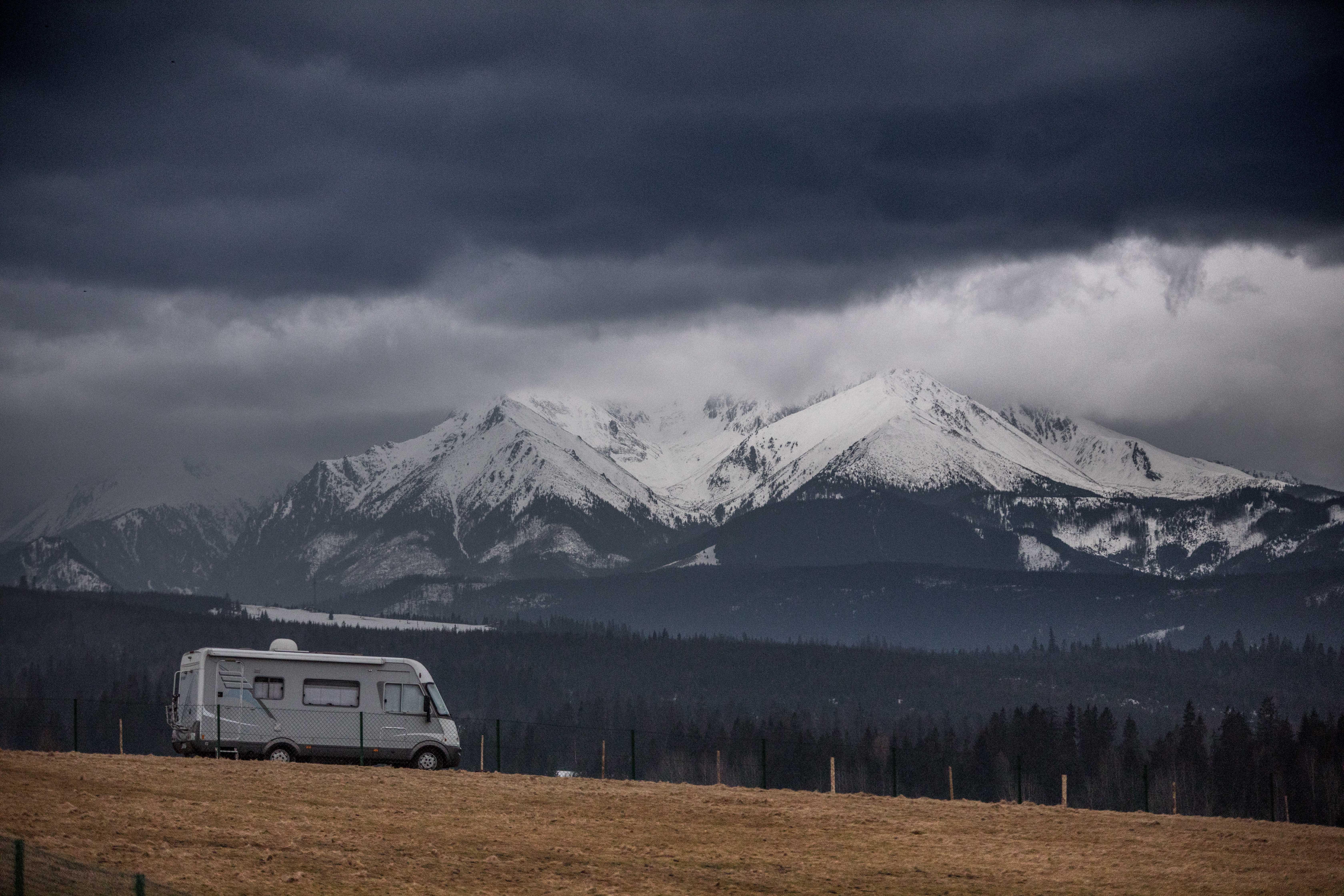 góry, Tatry kamper