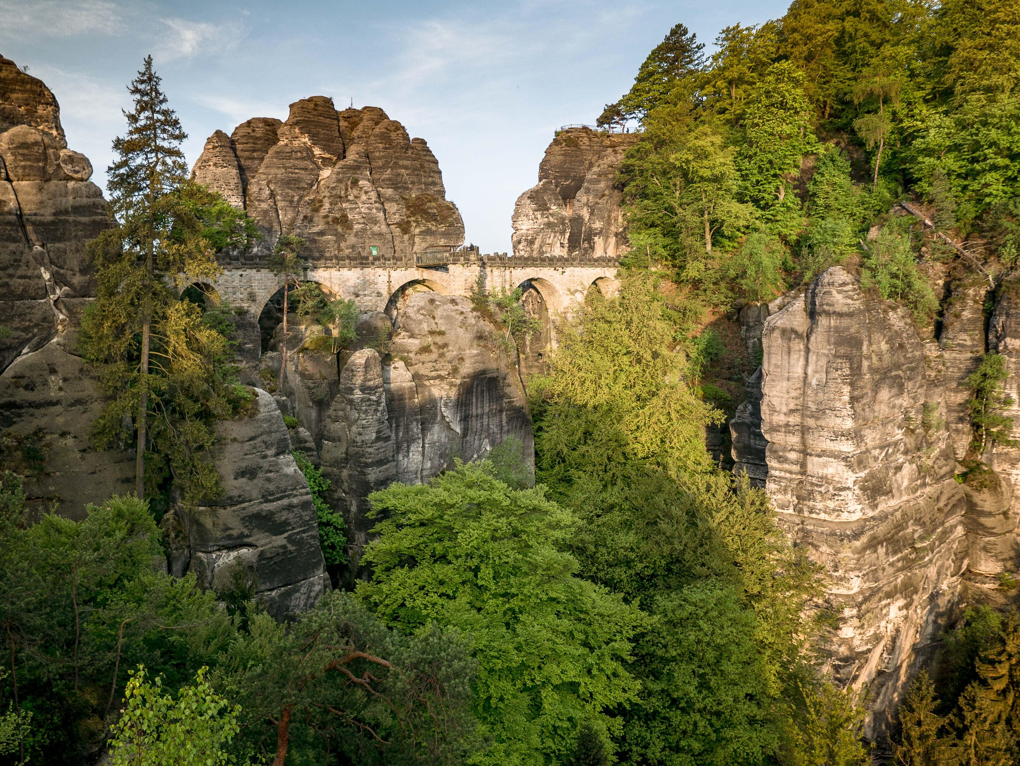 Szwajcaria Saksońska, kamperem do Niemiec