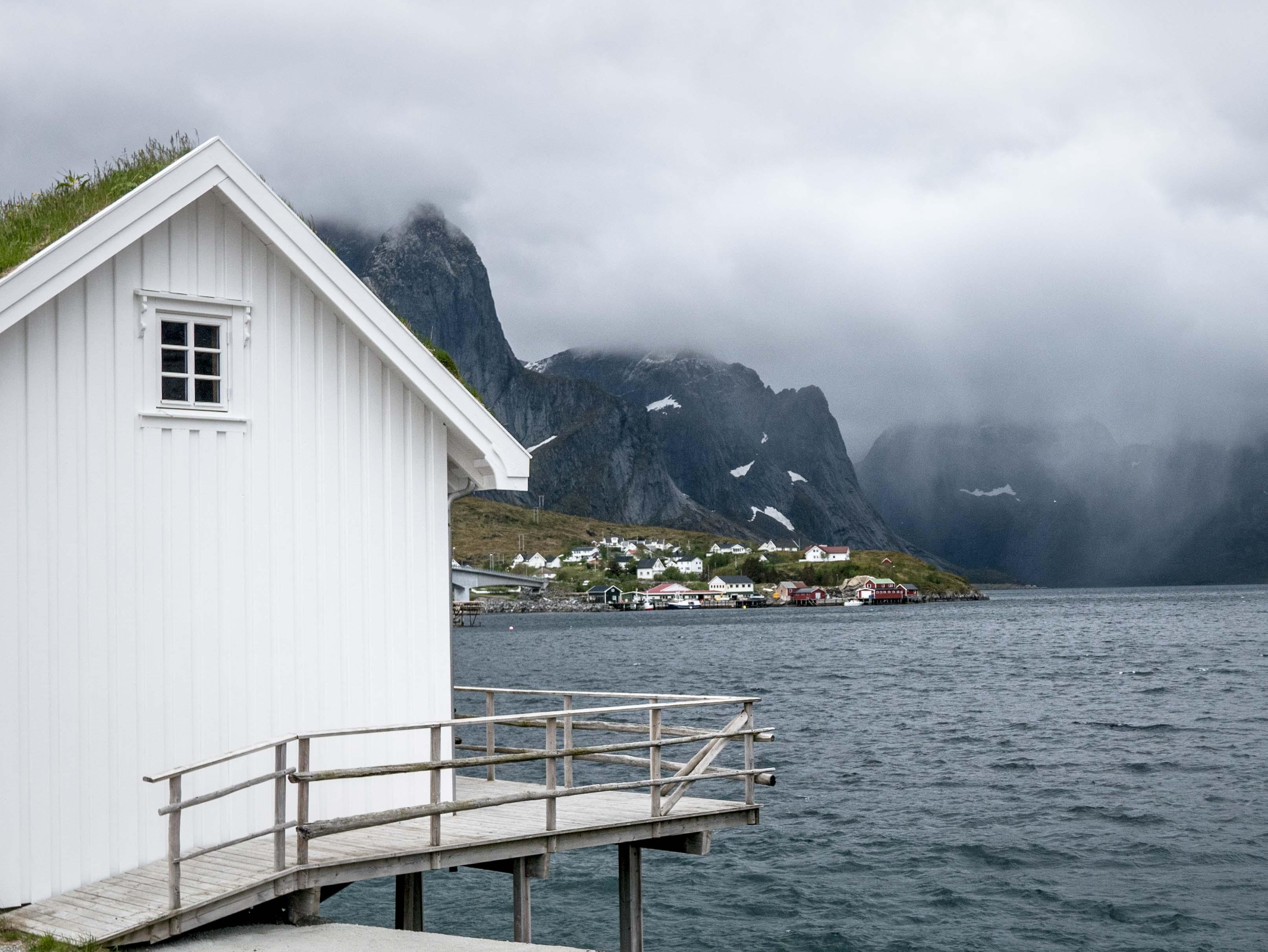 Lofoty, Norwegia,