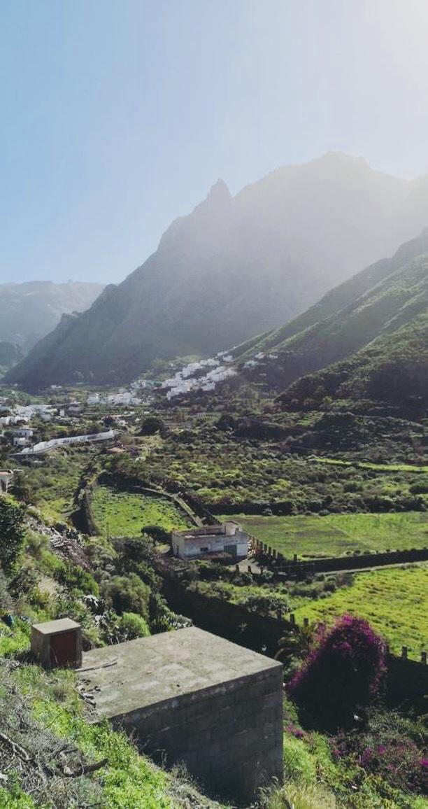 Agaete góry dolina