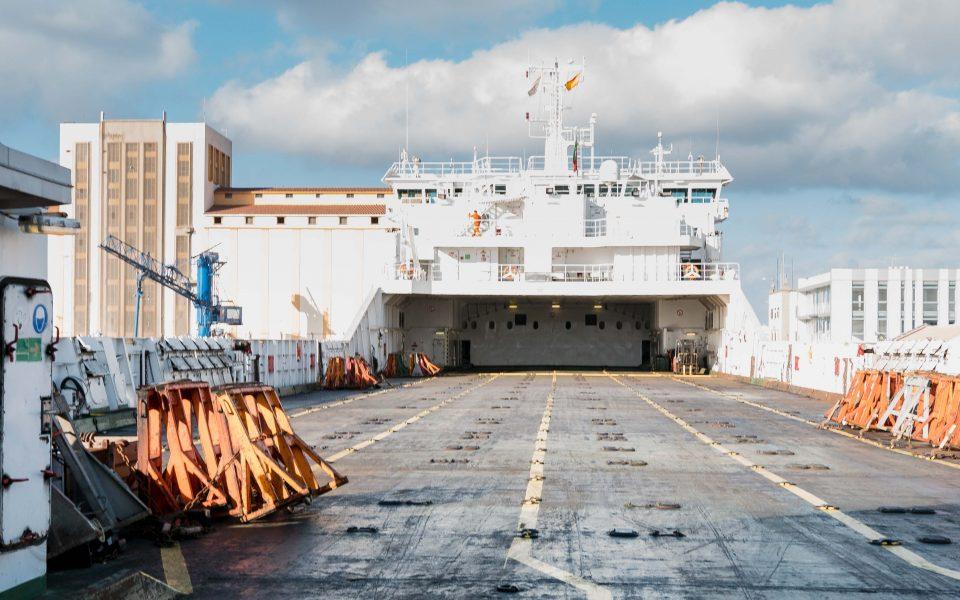Las Palomas, port