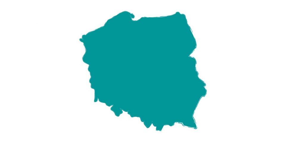 Camping polska mapa