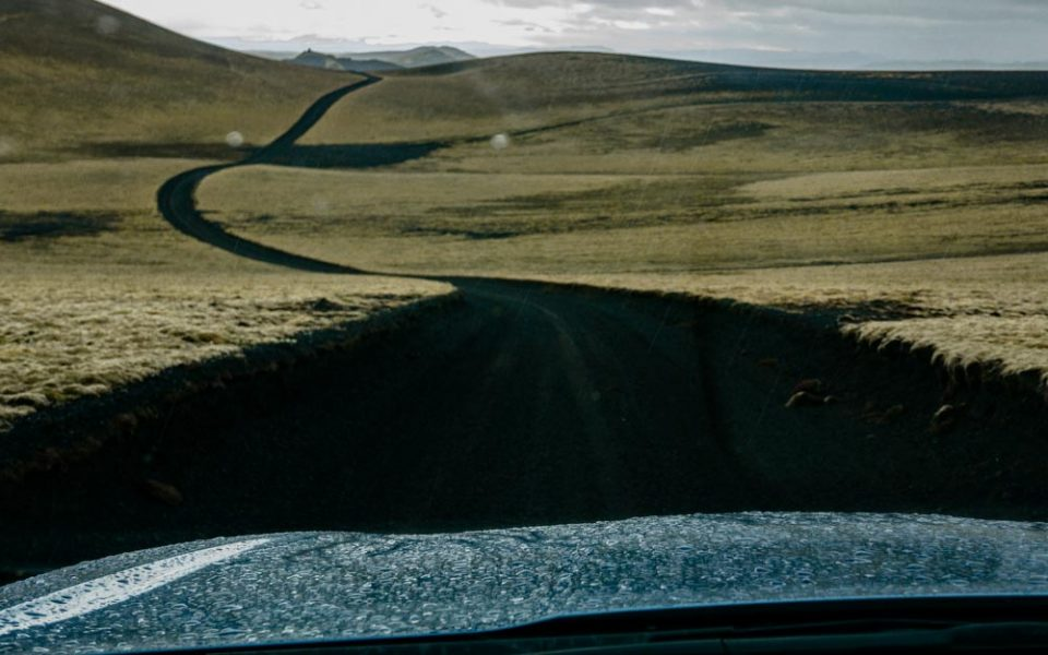 droga F206 Islandia, kratery Laki