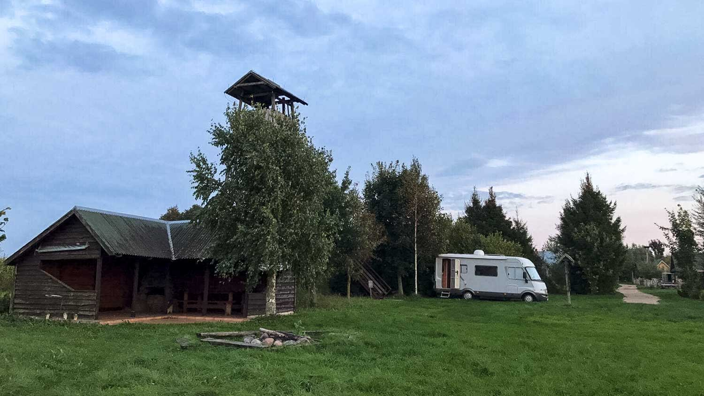 dworek na koncu swiata kamper camping