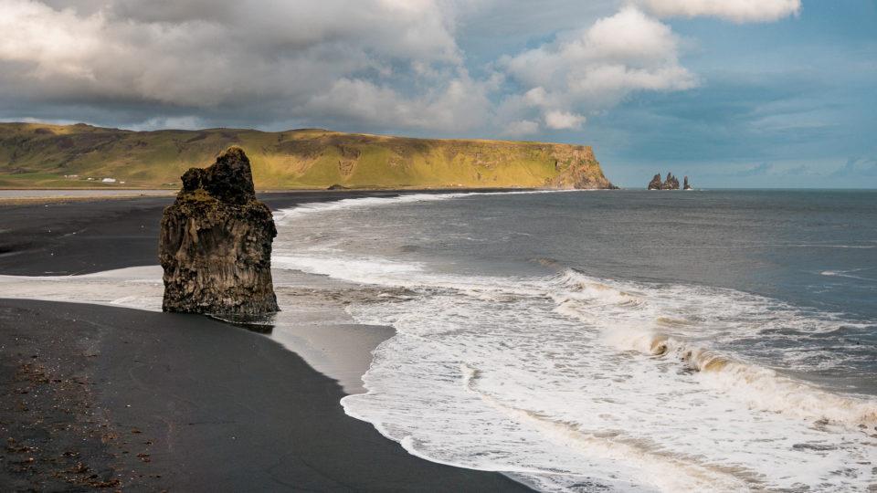 południe Islandii - plaże w okolicach Vik'u