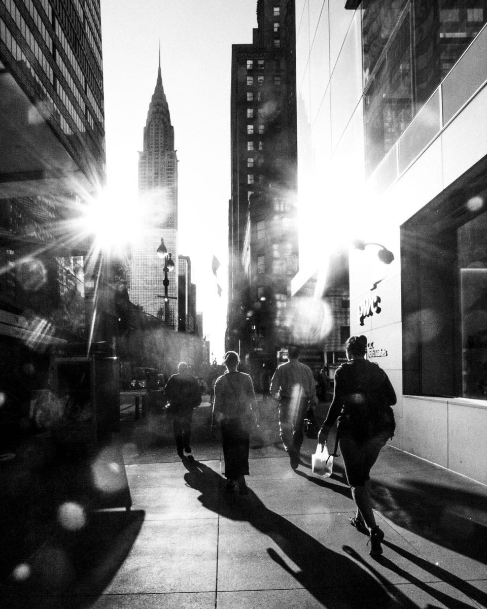 ulica na Manhattanie, NYC
